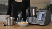 Kitchen robot with mobile application for IOS and Android Mycook Touch