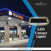 LED Canopy Lights- Ideal For Business Lighting Solutions